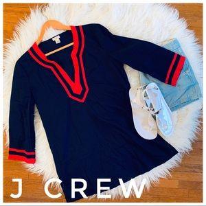 J CREW nautical tunic